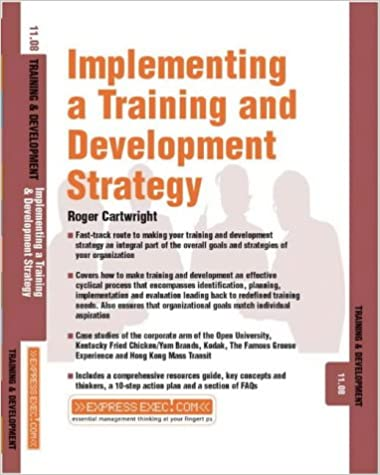 Implementing a Training 11.8 - T and D (Express Exec)
