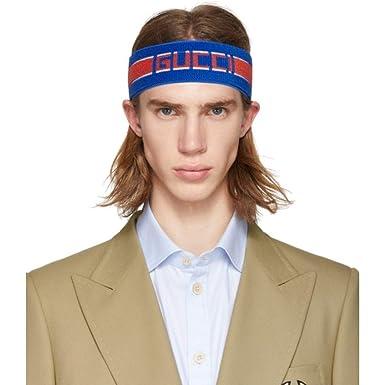 pretty nice 45384 07009 Amazon | (グッチ) Gucci メンズ ヘアアクセサリー Blue ...