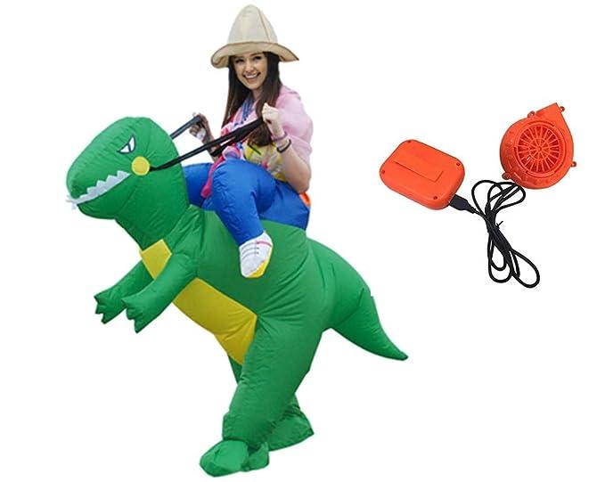 Amazon.com: Youland - Disfraz hinchable de dinosaurio para ...