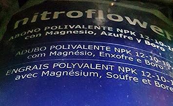 Nitroflower Abono Polivalente Azul 20kg