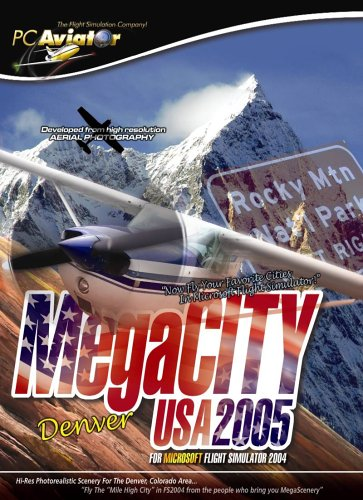 Used, Megacity Denver USA 2005 for Microsoft Flight Simulator for sale  Delivered anywhere in USA