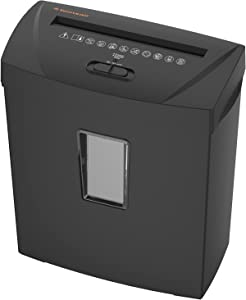 Paper Shredder for Home Use, 12-Sheet Cross-Cut Paper Shredder with Solid Cutters, Durable&Fast Shredder for Home Office with 3.7-Gallon Basket, Also Shreds Card/Staple/Clip(ETL Certification)
