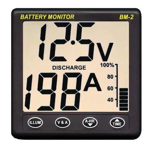 Clipper BM-2 Battery Monitor w/Shunt - 200Amp (Nasa Clipper)