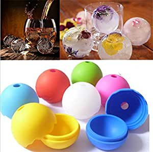 CXLKST Whiskey Ice Cube Silicon Ball Maker Mold Sphere Party Mould Brick Round Tray Bar