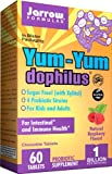 Jarrow Yum-Yum Dophilus Jarrow Formulas, Natural Raspberry Flavor, 60 Chewable