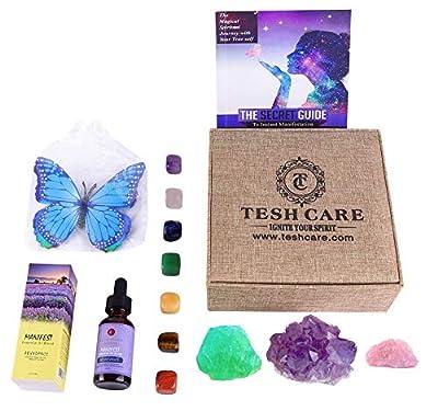 Tesh Care Crystal Healing and Manifestation Box