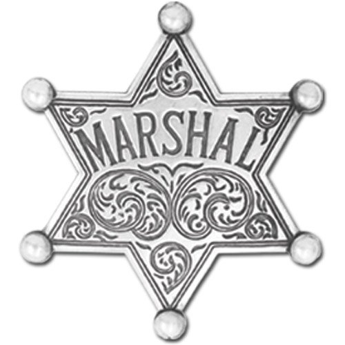 Denix Old West Era Marshall Replica Badge ()