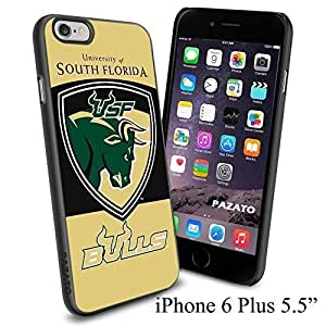 NCAA USF UNIVERSITY OF SOUTH FLORIDA BULLS Cool Case Cover For SamSung Note 4 Smartphone Collector iphone PC Hard Case Black