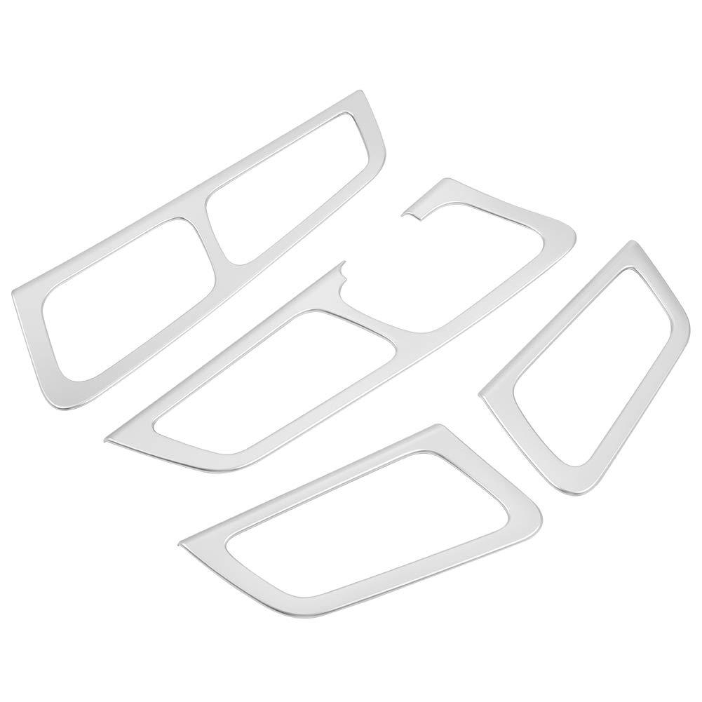 KIMISS 4Pcs Accesorio Interior de la Cubierta del Marco de la Manija de la Puerta de Coche para KX5 QL 2015-2018