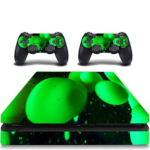 Price comparison product image PS4 Slim Green Skin Cover Playstation 4 Slim Lava Lamp Decal Sticker VWAQ-PSGC10