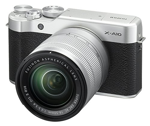 Fujifilm X-A10 Mirrorless Camera XC16-50mm...