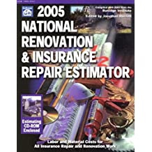 National Renovation & Insurance Repair Estimator with CDROM