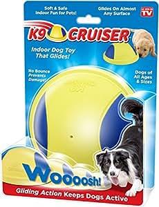 Pet Supplies : K9 Cruiser: Indoor Dog Toy That Glides