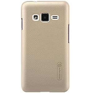 Nillkin Super translúcido Shield Carcasa para Samsung Z1 - Golden (embalaje de venta)