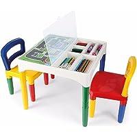 Mesinha Didática Poliplac Mini Mesa Crianças Com Cadeiras