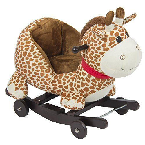 Baby Rockers with Wheels - Lovely Giraffe