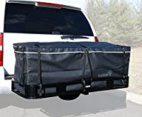 "Hitch bag - 100% Waterproof Large Hitch Tray Cargo carrier bag + Storage Bag 60"" x 24"" x 24"" (20 Cu Ft)"