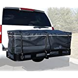 "Hitch bag - 100% Waterproof Large Hitch Tray Cargo carrier bag 60"" x 24"" x 24"" (20 Cu Ft)"