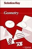 McDougal Littell Jurgensen Geometry: Solution Key Geometry by McDougal Littel (1994-06-01)