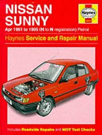 nissan sunny 91 95 service and repair manual haynes service and rh amazon com