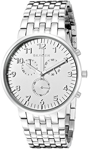 Skagen Men's SKW6231 Ancher Stainless Steel Link Watch
