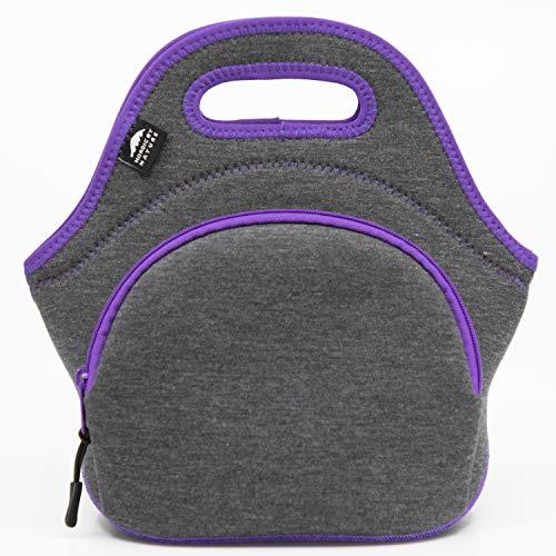Insulated Large Neoprene Lunch Bag For Women, Men & Kids | Pocket | 5mm Insulation | 13.5