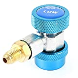 Air-Conditioner Low Side R134a Quick Connector Adapter Coupler Blue