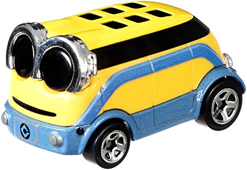Hot Wheels Minion Dave Vehicle, 1:64 Scale]()