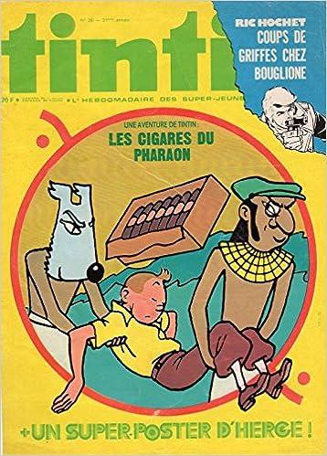 En ligne Tintin n° 20 - 11/05/1976 - Couverture Hergé - Attention ! Seulement la couverture pdf epub