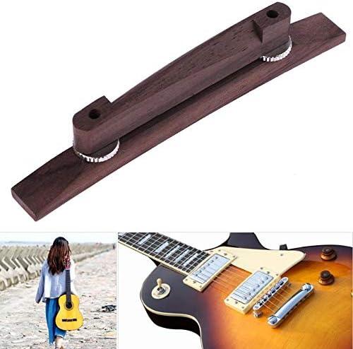 LDCRE 1 Pieza de Puente Flotante de Palisandro para Guitarra ...