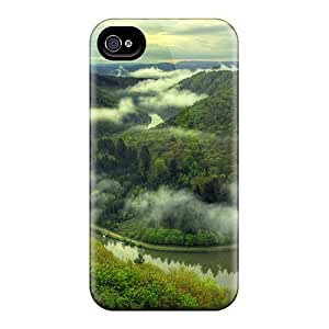 OSv1658uziB Case Cover Protector For Iphone 4/4s Awesome Boatride Case