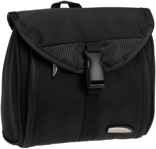 Travelon Compact Hanging Toiletry Kit   , Black, One Size, Bags Central