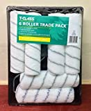"9"" Paint Roller Set by T-Class 6 Piece Decorators Trade Roller Set Complete Kit"