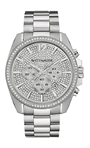 Wittnauer Silver Dial Stainless Steel Men's Watch - Mens Watches Wittnauer