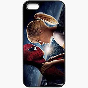 Personalized iPhone 5 5S Cell phone Case/Cover Skin Amazing spider man emma stone movies Black