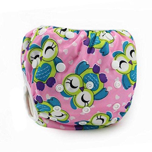 Eizur Baby Schwimmwindel Waschbare Windelhose Wiederverwendbar Stoffwindeln Auslaufsicher Baby-Tuch Windeln Größe Verstellbar Badebekleidung Badewindelhöschen Schwimmwindelhose Schwimmbekleidung Badewindel Verschiedene 9 Model Optional