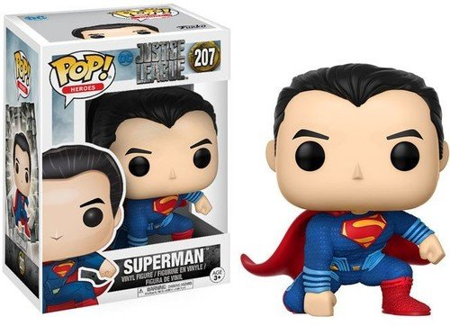Funko POP! Movies: DC Justice League – Superman Toy Figure