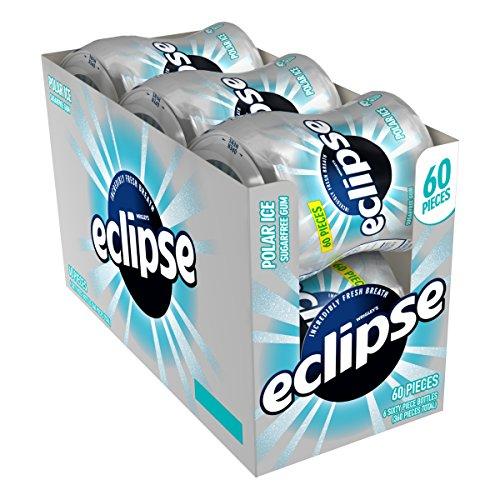 Eclipse Polar Ice Sugar Free Gum, 60 Count