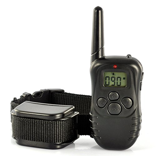 Generic Pet Dog Training Collar - LCD Display Remote, Built in Battery