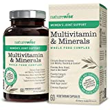 NatureWise Women's Joint Support Multivitamin — Whole Foods Complex with Vitamins & Minerals for Healthy Heart & Bones (⬇ Watch Product Video in Images) UC-II Collagen, Joint Mobility & Comfort, 60 Ct For Sale