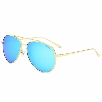 TYJshop Gafas De Sol,Hombres Y Mujeres,Conducción Polarizada De Moda,Gafas,Tabletas De Hielo Azul 1: Amazon.es: Deportes y aire libre