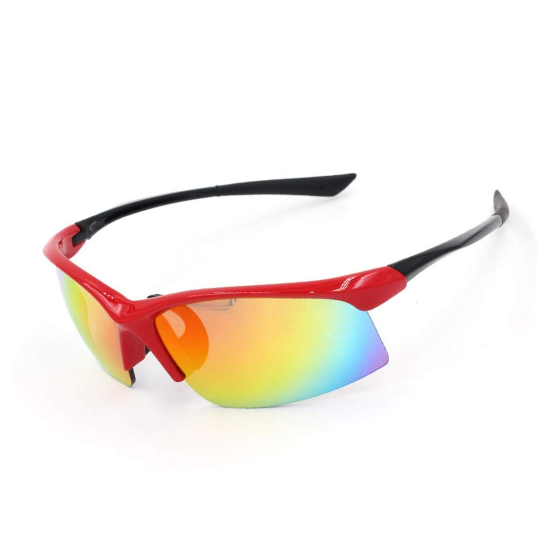 BAOYIT Outdoor Sports UV Protection Mountain Bike Riding Glasses Accessories (Color : Red) by BAOYIT