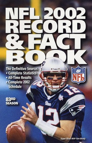 Professional Football League - The Official NFL 2002 Record & Fact Book (OFFICIAL NATIONAL FOOTBALL LEAGUE RECORD AND FACT BOOK)