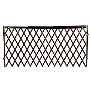Walk-Thru Room Divider Baby Gate, Farmhouse Collection