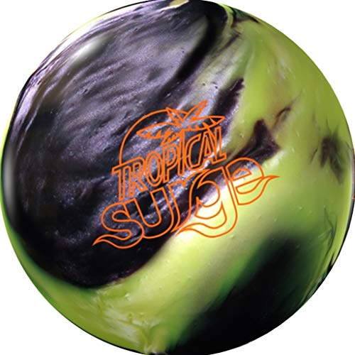 Storm-Tropical-Surge-PRE-DRILLED-Bowling-Ball-YellowBlack-16lbs