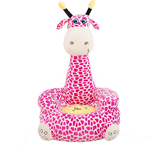Arrowder Children Pp Cotton Plush Cartoon Toys Sofa animal Chairs for Christmas Gift Giraffe 5