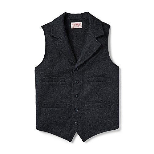 Filson Mackinaw Western Vest - Charcoal - X-Large