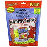 Yummyearth Gummy Bear 10 Snkpk Fmly
