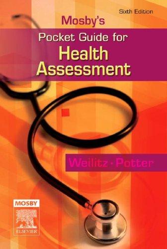 Mosby's Pocket Guide for Health Assessment (Nursing...