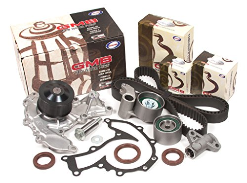 Evergreen TBK303HWP Fits 98-03 Honda Acura Isuzu 3.2L 3.5L 6VD1 6VE1 Timing Belt Kit GMB Water ()
